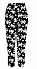 Womens Ladies High Quality Stretchy Printed Leggings Trousers UK plus size 8-26