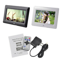 "7"" Digital Photo Frame Picture Album SD/MMC/MS TFT LED Video MP4/Movie Player"