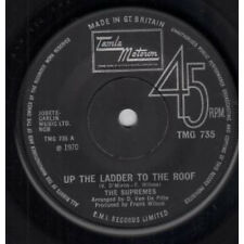 "SUPREMES Up The Ladder To The Roof 7"" VINYL UK Tamla Motown 1970 B/W Bill When"