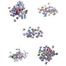 Colorful DIY Charms 2mm Hole Spacer Beads Necklace Bracelet Jewelry Making Craft