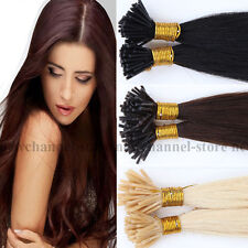 """Pre Bonded 18""""22"""" I Tip Stick Tip Keratin Human Hair Extensions Straight 0.5g/s"""