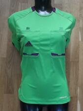 (srt054) brand new • Adidas womens football referee shirt • BNIP• size L