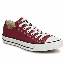 Converse All Star Low Top Maroon Womens Trainers
