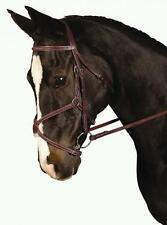 Kincade Padded Figure 8 Noseband Bridle with Comfort Crown and Laced Reins