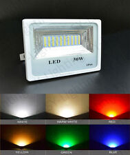 50W white warm red green blue SMD LED IP66 Bright Outdoor Flood Light BULB LAMP