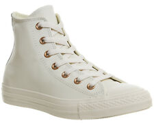 Mens Converse All Star Hi Leather Trainers EGGNOG LIGHT GOLD EXCLUSIVE Trainers
