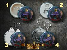 Guardians of the Galaxy Baby Groot Large 58mm Badge-Bottle Opener-Keyring Vol 2