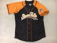 Sioux Falls Pheasants Throwback Adult Youth BLACK Minor League Baseball Jersey