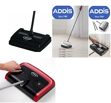 ADDIS FLOOR SWEEPER MULTI SURFACE CARPET FLOOR MULTI SPEED EWBANK MANUAL HANDY