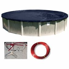 Snow2Winter™ Round Above Ground Swimming Pool Winter Covers (Various Sizes)
