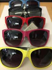Mens / Ladies coloured Sunglasses with UV400 sun protection red pink blue yellow