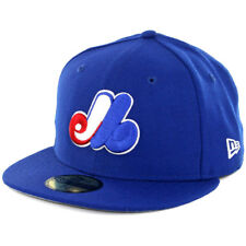 """New Era Montreal Expos CO """"Wool Standard 2"""" Fitted Hat (RB) Men's 59Fifty Cap"""