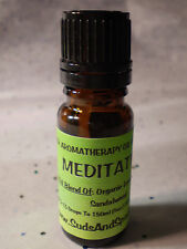 Meditation Aromatherapy Diffuser Blend - Pure Essential Oil Blend - Holistic