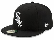 New Era Chicago White Sox 2017 GAME 59Fifty Fitted Hat (Black) MLB Cap