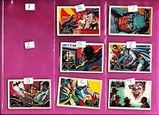 Batman Fan Club Logo   A&BC Gum Cards .. JUST PICK THE CARDS NEEDED