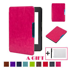 Magnetic Leather Wake/Sleep Cover Case For Amazon Kindle(8th Generation)6-inch