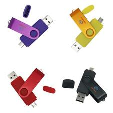 2 Ports OTG Micro USB Pen Drive Flash Drive Memory Stick for Mobile Phone