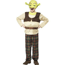 Boys Kids Shrek Ogre Licensed World Book Week Fancy Dress Costume Outfit 20490