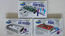 Table Top Mini Game Football, Air Hockey or Pool (Choice of 3)
