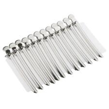 12pcs Metal Hairdressing Sectioning Clamp Salon Hair Styling Clip Strong Grip