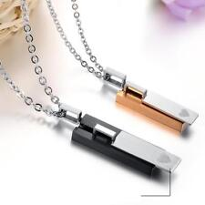 316L Stainless Steel Couple Lovers' Pendant Necklaces Fashion Jewelry Necklace
