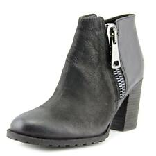 Aldo Cristy Women  Round Toe Leather Black Ankle Boot