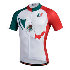 2017 Mexico Pro Cycling Jersey Top Ropa Ciclismo Bike Team Bicycle Cycling Shirt
