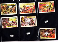 A&BC GUM BATTLE CARDS VGC £1   EACH JUST PICK THE CARDS YOU NEED