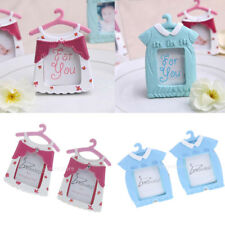 2pcs Baby Clothes Hanger Kids Children Birthday Gift 7x9 cm Picture Photo Frames