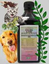 NATURAL HERBAL ALL WORMER AND PARASITE TINCTURE FOR PETS ~ Multiple Sizes