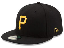 New Era Pittsburgh Pirates 2017 GAME 59Fifty Fitted Hat (Black) MLB Cap