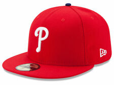 New Era Philadelphia Phillies 2017 GAME 59Fifty Fitted Hat (Red) MLB Cap