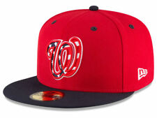 New Era Washington Nationals 2017 ALT 3 59Fifty Fitted Hat (Red/Navy) MLB Cap