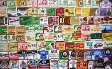 CZECHOSLOVAKIA Lot of 100 different beer labels - VERY NICE !!! - D