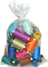 75s SPUN POLYESTER THREAD, MIXED PACK, VARIOUS COLS, PACK OF 25/50/100+