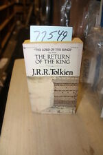 Tolkien, J. R. R. Return of the King Lord of the Rin...
