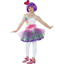 Kids Girls Mini Candy Child Retro Dancer Fancy Dress Costumes Outfit 21902