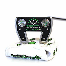 CUSTOM Scotty Cameron mallet Putter FUTURA 5W The Clover Edition with Headcover