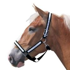 Intrepid International NEW Poly Draft Horse Two Ply Nylon Halter with Overlay