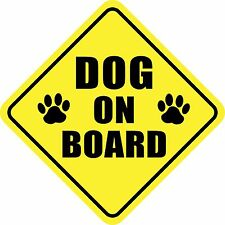 DOG ON BOARD STICKER DECAL SIGN MADE IN USA Buy 2, Get 3rd FREE
