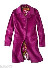 MISSONI FOR TARGET COAT TRENCH CORDUROY GREEN, ROSE M, L