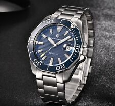 NEW Mechanical Watches Waterproof Steel Stainless Brand Luxury Watch Men Relogio