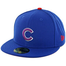 """New Era 59Fifty """"Team Twisted"""" Chicago Cubs Fitted Hat (Royal Blue) Mens MLB Cap"""