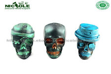 3D Skull Silicone Soap Moulds Candle Molds DIY Cake Chocolate Making Halloween
