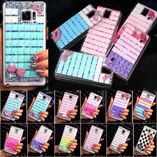 Cool New Bling Rhinestone Crystal Diamond Hard Case Cover For Samsung Galaxy