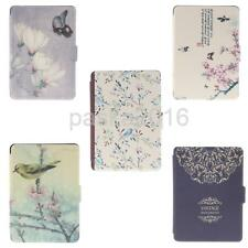 Flip PU Leather Case For Amazon Kindle Paperwhite eBook Tab Cover Auto Sleep