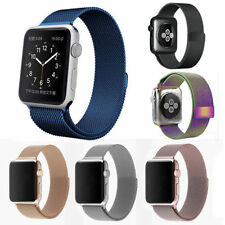 Milanese Magnetic Loop Stainless Steel Strap Watch Bands For iWatch 38/42MM