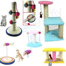 Cat Tree Deluxe Furniture Play Toy Scratch Post Scratcher Board Kitten Pet House