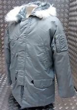 US N3B Military Style ECW Snorkel Parka Grey MOD/Scooter/Bikers - All Sizes NEW