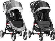 Baby Jogger CITY MINI 4 WHEEL SINGLE STROLLER/BUGGY/PUSHCHAIR Baby Travel BN